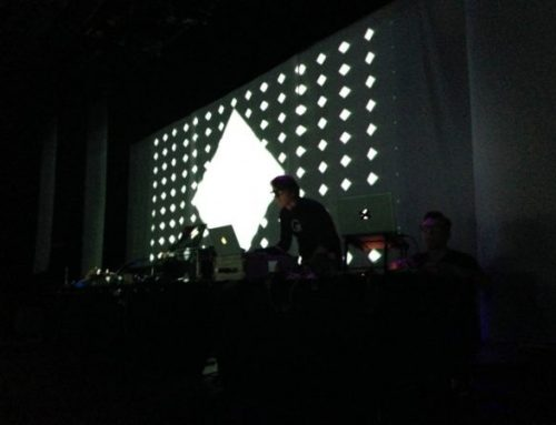 Vjing for D'Arcangelo at Sophia Digital Art 2015